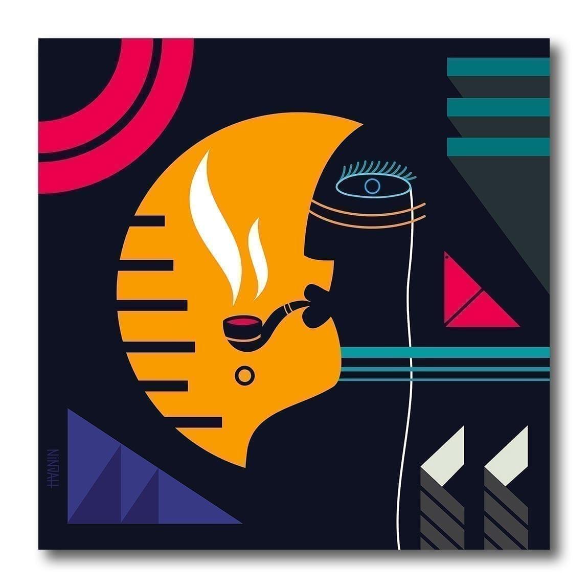 Kunstverk av Ninja kalt Cabocla